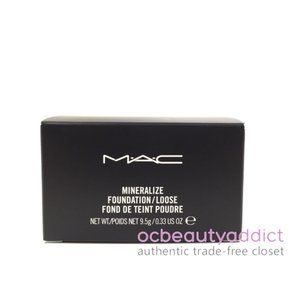 Mac Mineralize Loose Powder Foundation - Med Plus